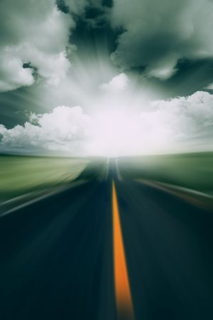the abstract background of the road. Stock Photo - 5549016