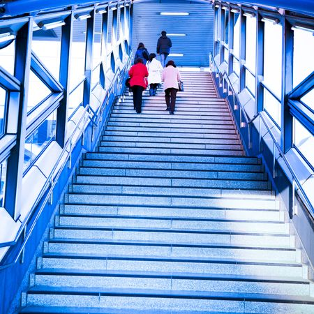 interior of the upstair in a city of japan. Stock Photo - 6200993