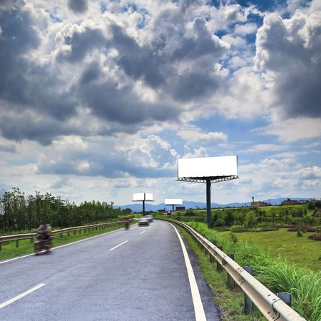 highroad: the billboard ande road outdoor.
