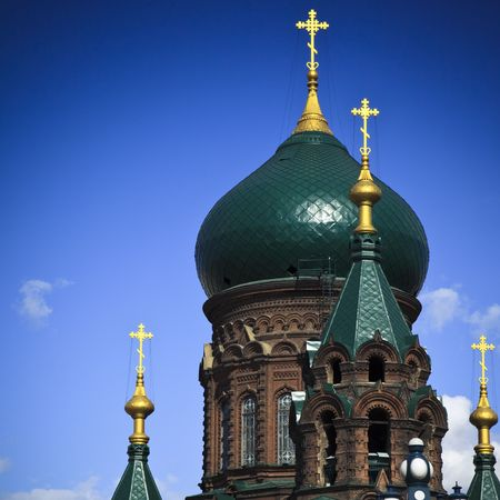 Holy Sophia cathedral  in Harbin china.