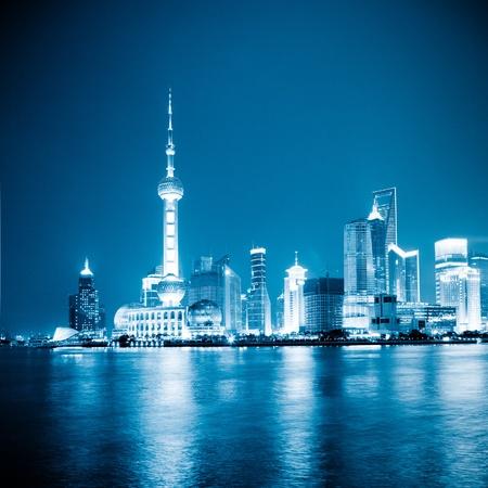 the scene of shanghai china.