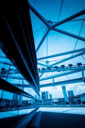중국, 현대 건축 및 흐림 하늘 배경에 도시의 장면. 스톡 콘텐츠 - 15062268