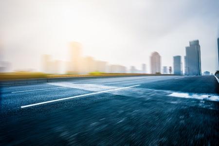 traffice of city