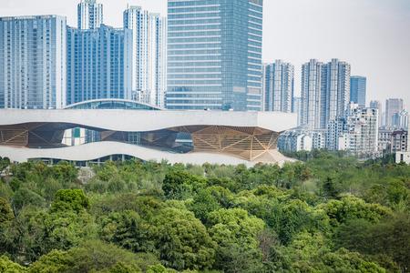 citypark: modern buildings,shanghai