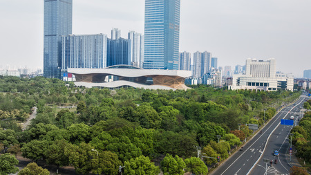 citypark: cityscape,shanghai. Stock Photo