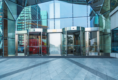 building entrance: building entrance,shanghai china.