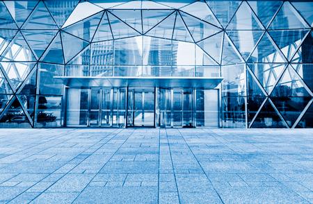 building entrance: corporate building entrance
