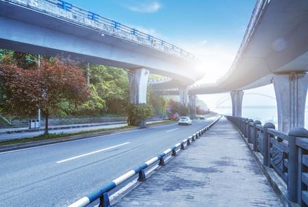 traffic on chongqing interchange