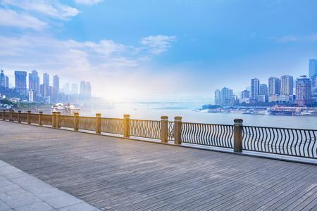 city of sunrise: chongqing cityscape