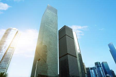 district: financial district,hong kong Stock Photo