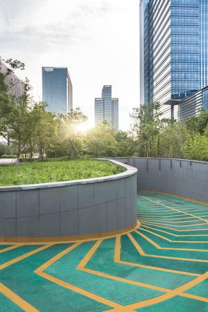 city underground parking,shanghai china. Editorial
