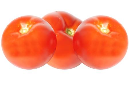 image of tomato isolated on white background photo