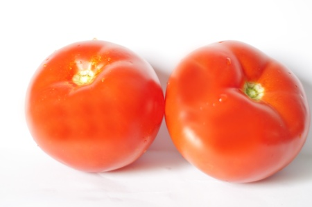 image of tomato isolated on white background photo