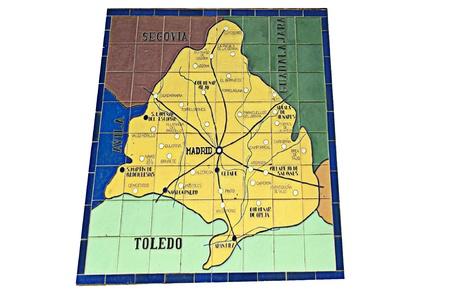 map province madrid  photo