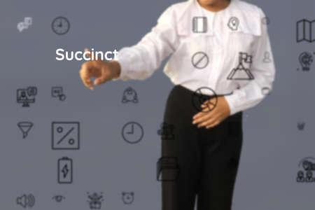 Succinct participate of correct, required, careful, factual, expensive, precision, close
