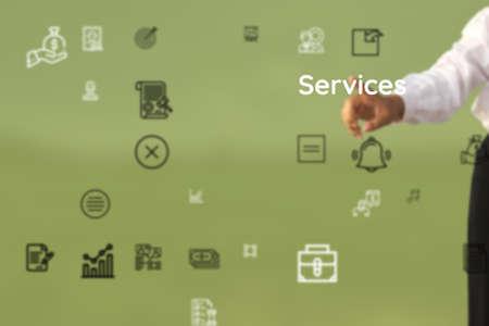 outline as to Services, entity, dealers, transaction, economic, services, business organization, biz, market, transactions