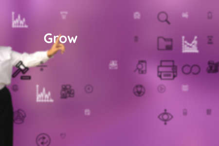 Grow represented of set up, educate, heighten, leaven, impose, broaden, develop, relieve, put forward