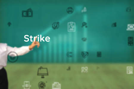 Strike touching for happen, hit, conclude, forge, manage, devise, culminate, happens, forward, descend
