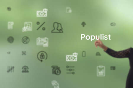 Populist outline by renowned, endemic, nongovernmental, public, jamahiriya, pervasive, popularization