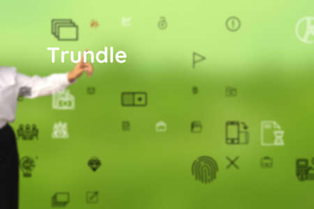 Trundle include by left, quit, emplane, arrive, whisk, embark, return, unstick Stock Photo