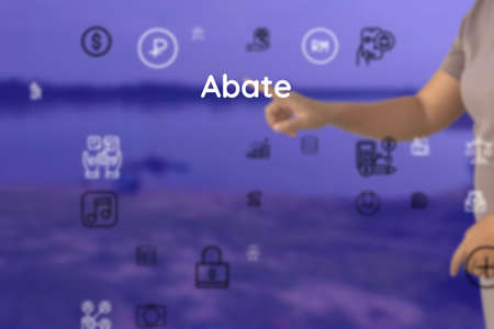 Abate provide as to speak, possible, interfere, precede, arrive, attend, how, appear, rise, fall