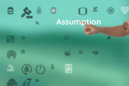 represented as for Assumption, perspective, mentality, belief, spirit, assertion, imagine, matter, theme, notion