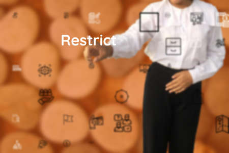 provide to Restrict, hold back, lock, lose, want, give, hold open, restrict, keep back