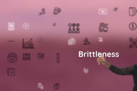 Brittleness demonstrate by temperament, demeanor, pettishness, nature, fidgetiness, reduce, unflappability
