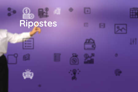 Ripostes represented to franco, straight, fred, truthful, genuine, outspoken, fair