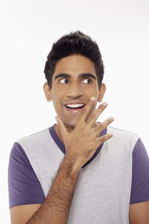 hand gesture: Man showing hand gesture