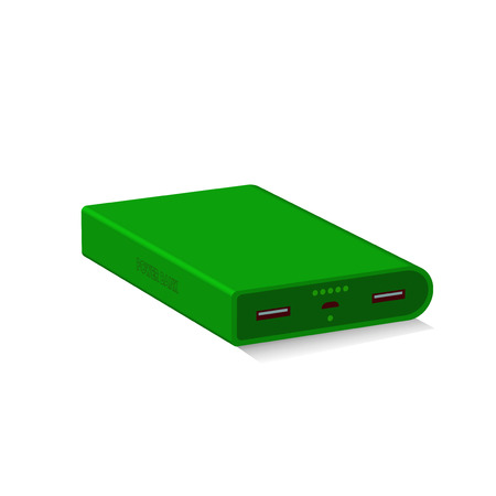 Power Bank Green for smart Phones