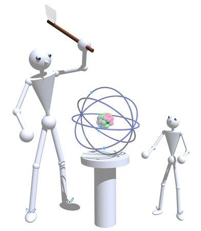 splitting: Splitting the atom