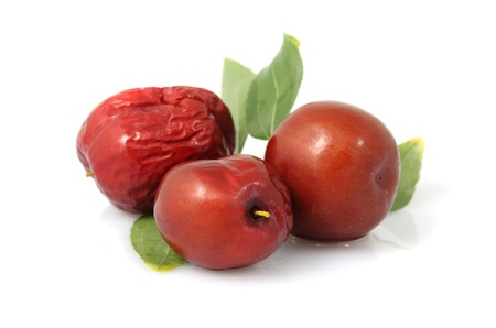 dattes: Les dates rouges - fruits de Zao arbre