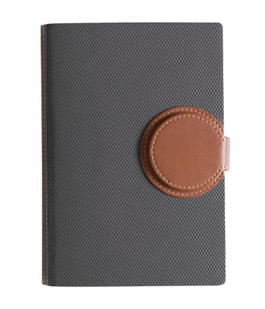 notebook: notebook on white background.