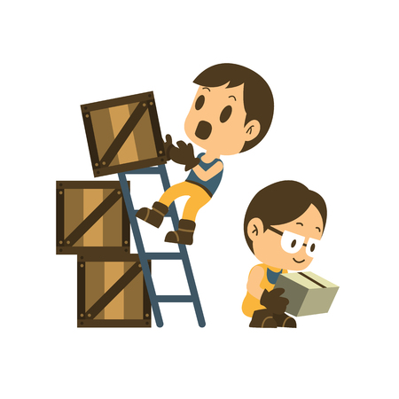 Safety and consequences of failure. health and safety vector illustrator