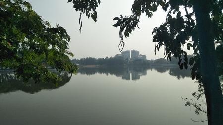 Ulsoor lake bangalore Stock Photo