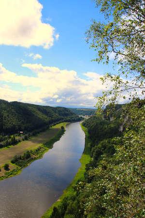 a Beautiful view of Bastei rocks, Sachsische Schweiz near Dresden area, Germany Imagens