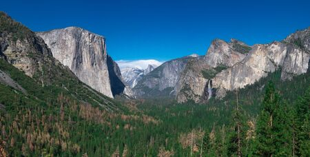 Tunnel View, Yosemite National Park CA