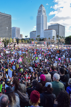 Womens March January 21st 2017 Los Angeles CA
