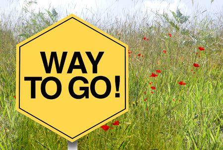 sign, symbol, Way to go grass