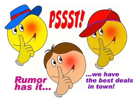 Psssssst! Rumor has it..... photo