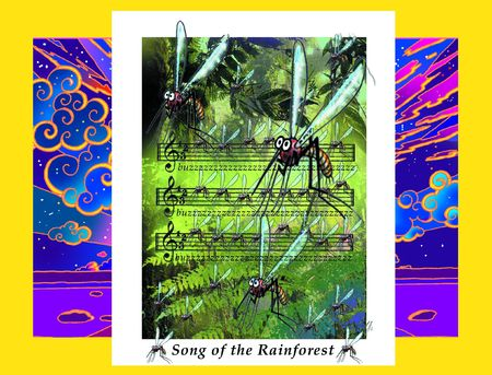 Mosquito Song  Stock Photo