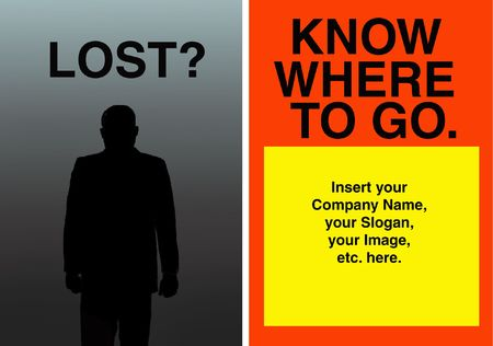 Lost?Know where to go. photo