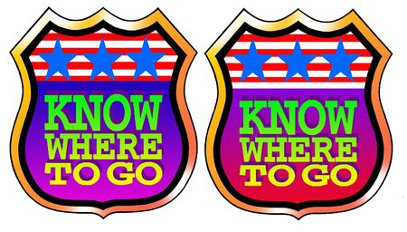 Know where to go! Stock Photo - 6172298