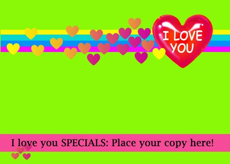 I love You....Banner Stock Photo - 6261702