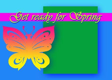get ready: Preparatevi per la primavera  Archivio Fotografico