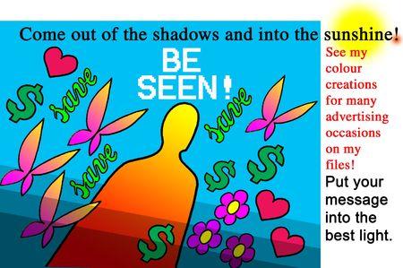 Be Seen! Stock Photo