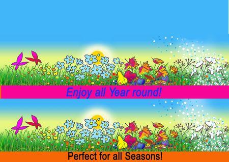 All 4 seasons Stock Photo - 6300487