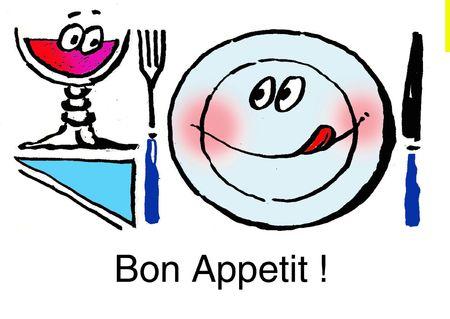 Bon appetit ! Stock Photo