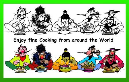 1-2-3 dig in! international cuisine